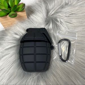 AirPods 1/2 Silicone Cartoon Skin Case - Grenade